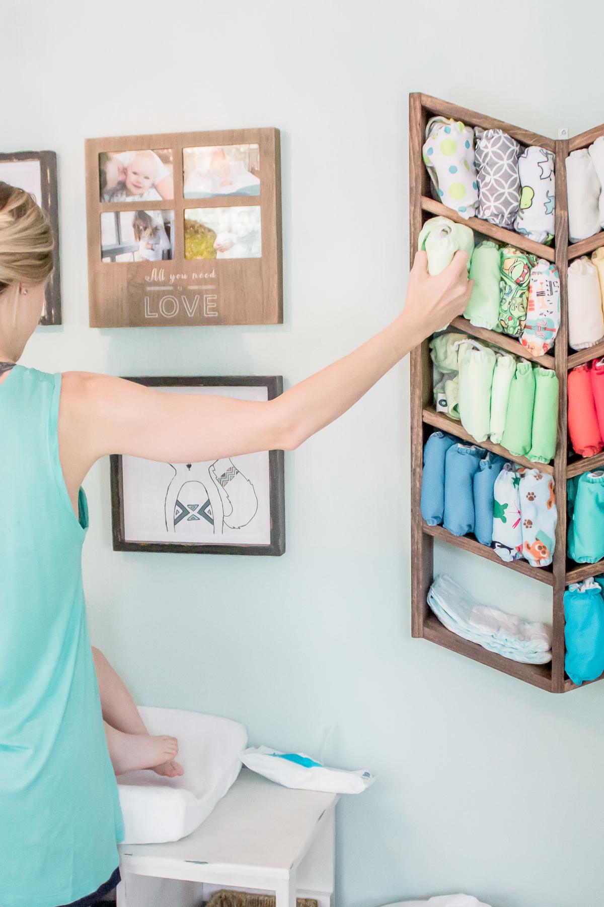 Diy Organizer For Cloth Diaper Storage Free Pattern
